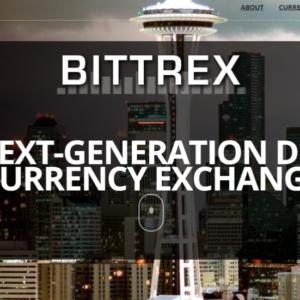 bittrex homepage screenshot