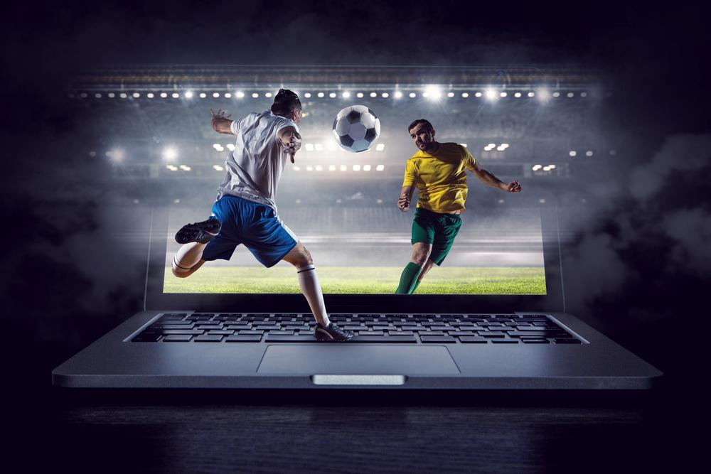 football betting concept