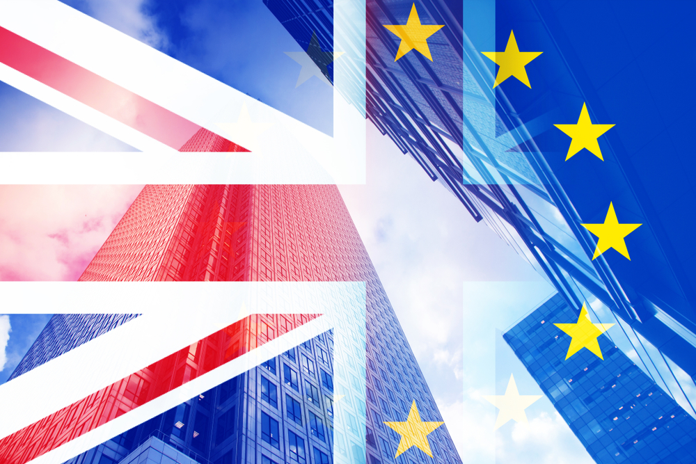 brexit flag concept