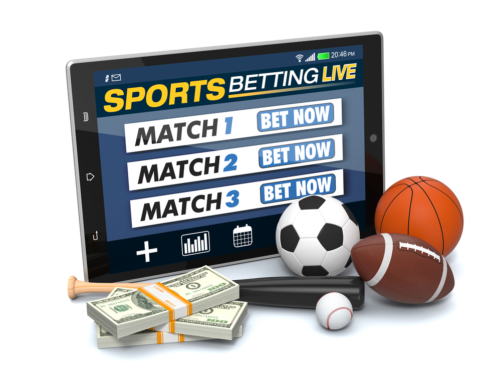 sports betting concept