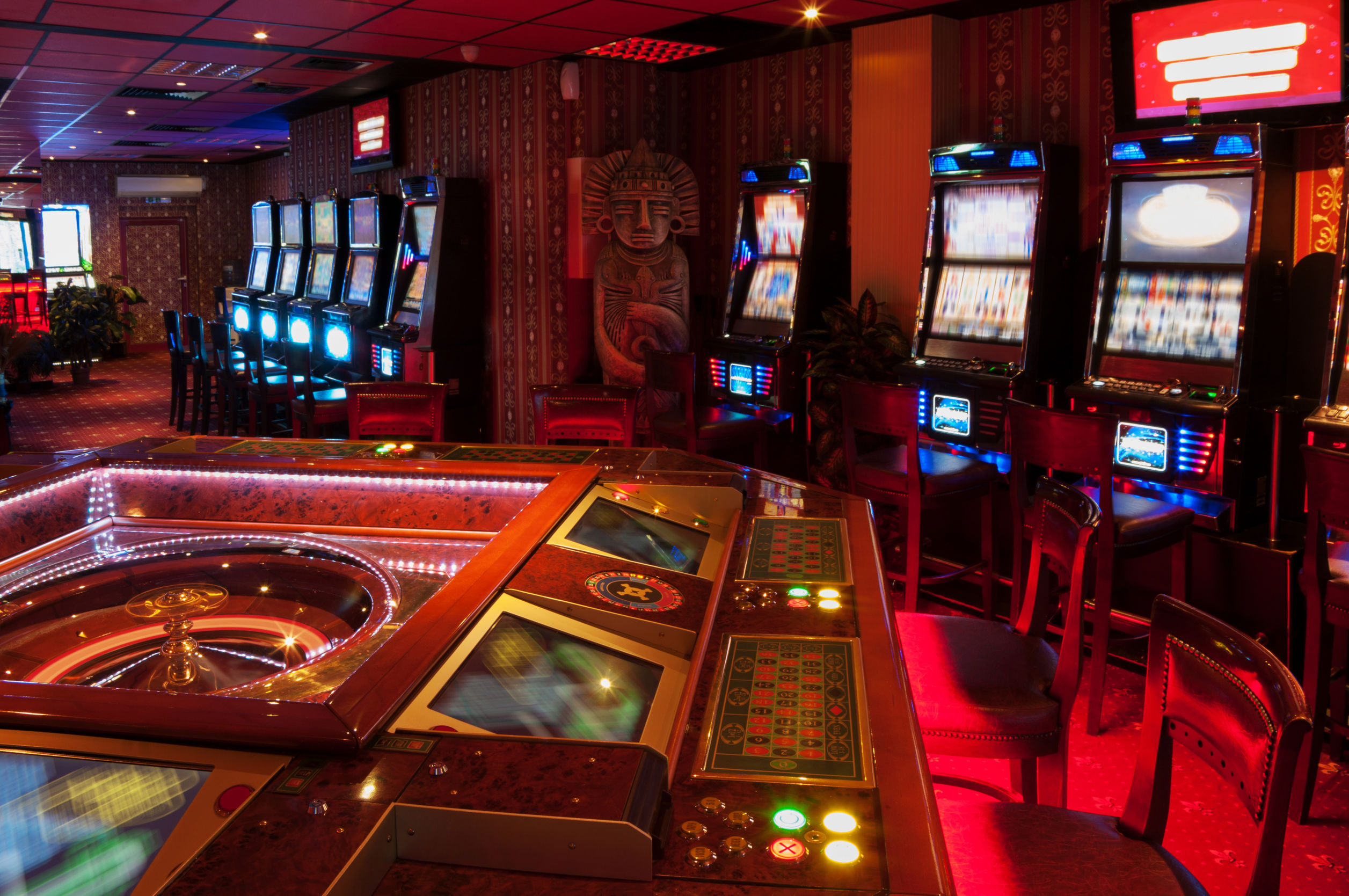 Slot Machine and Roulette