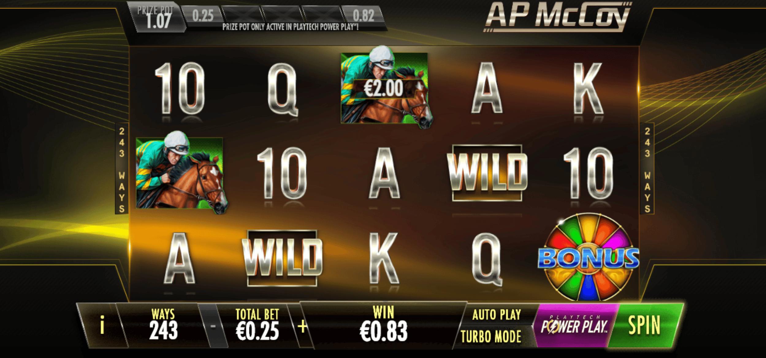 New Ap Mccoy Sporting Legends Slot Goes Live Casino Chronicle