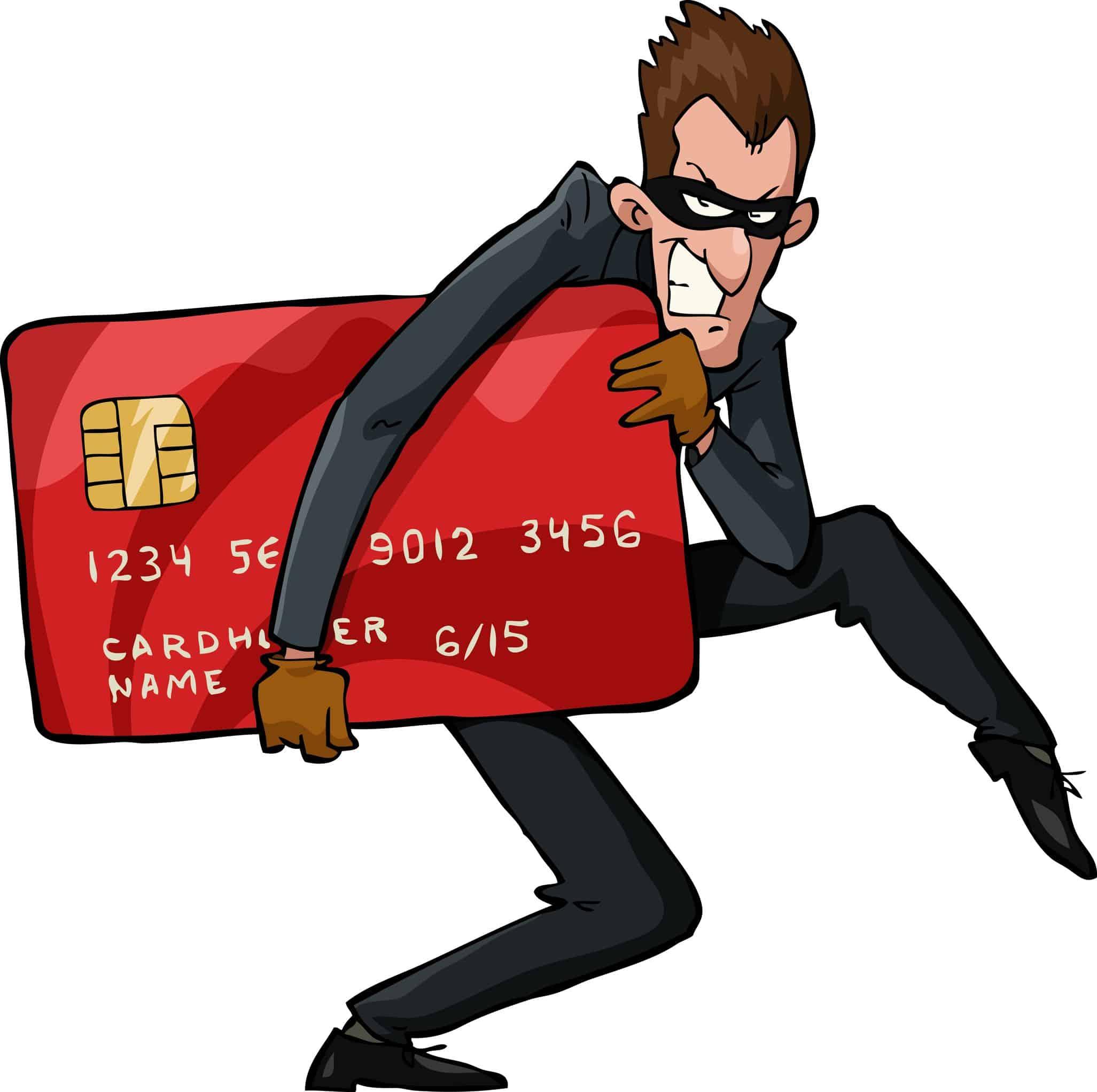 debit card thief