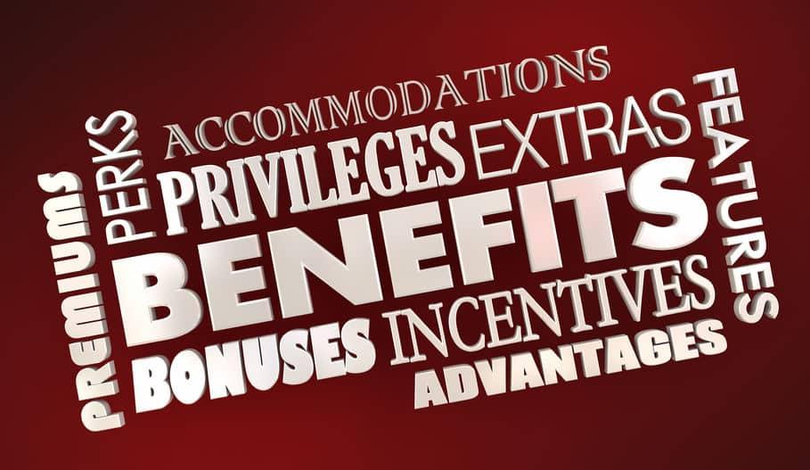 Benefits Advantages Bonuses