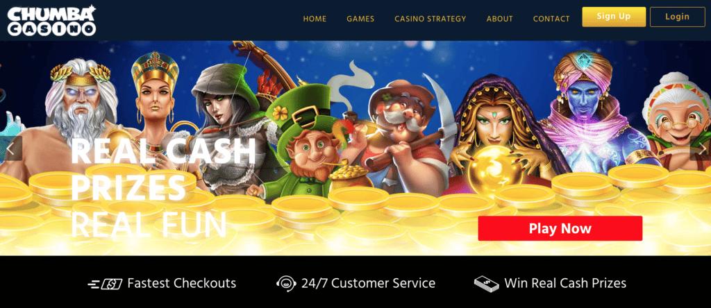 chumba casino screen shot