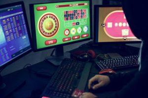 multiple casino game screens