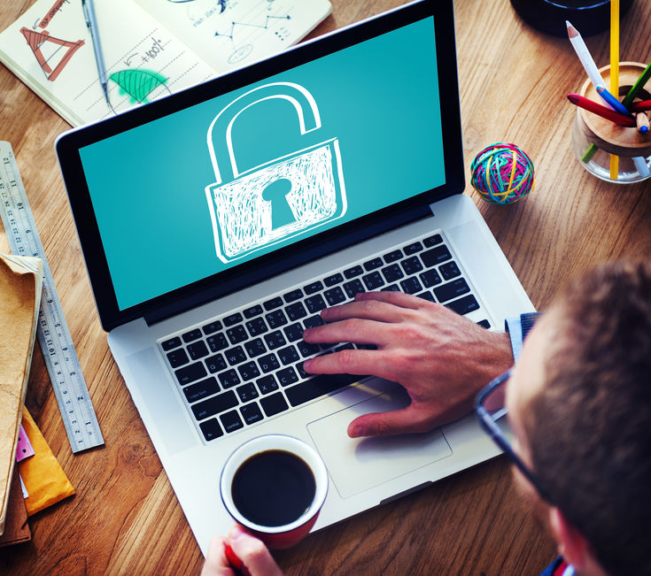 online security concept