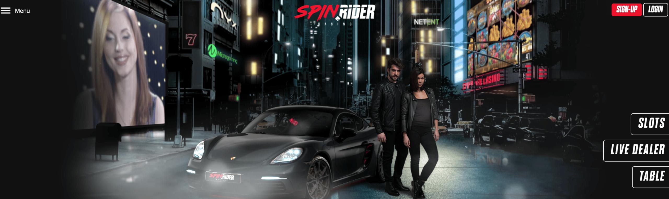spin rider screen shot