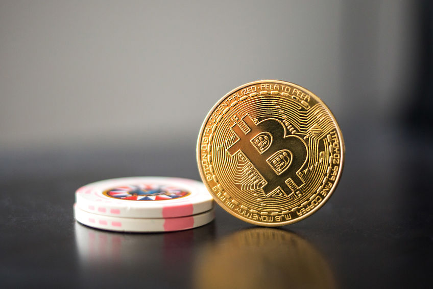 Gambling with bitcoin and casino chips