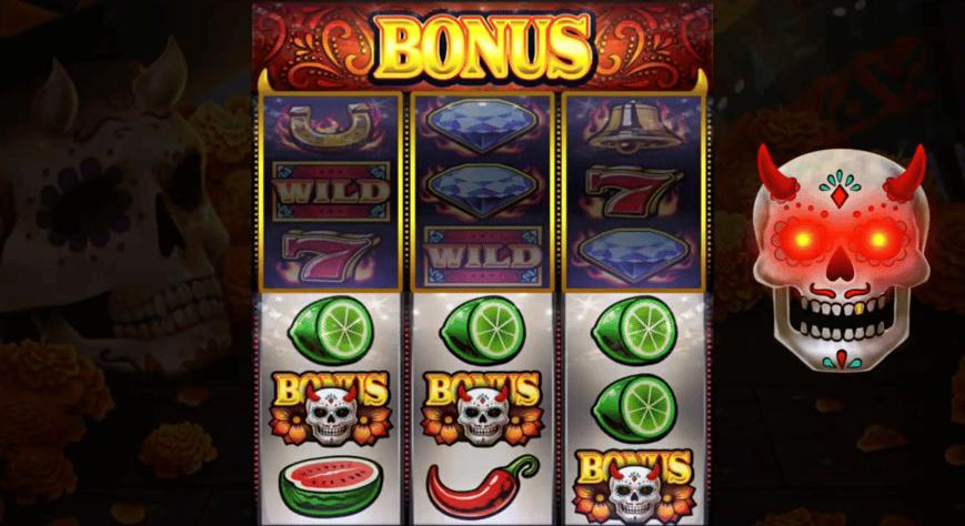 diablo reels slot bonus