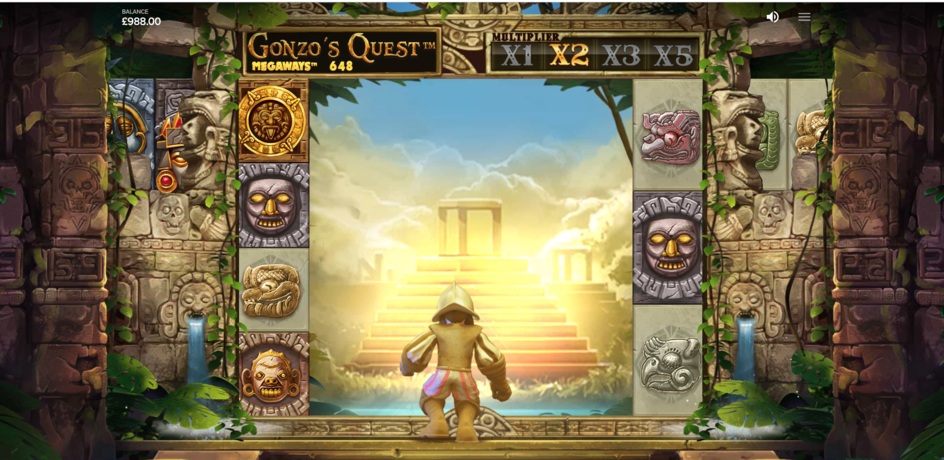 gonzos quest megaways slot free spins