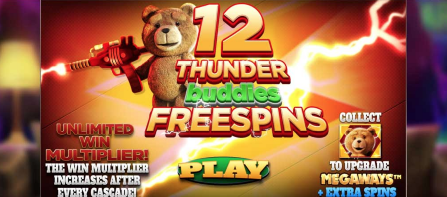 thunder buddies ted megaways free spins