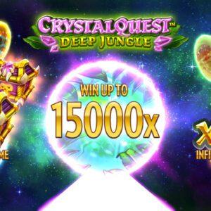 crystal quest deep jungle slot