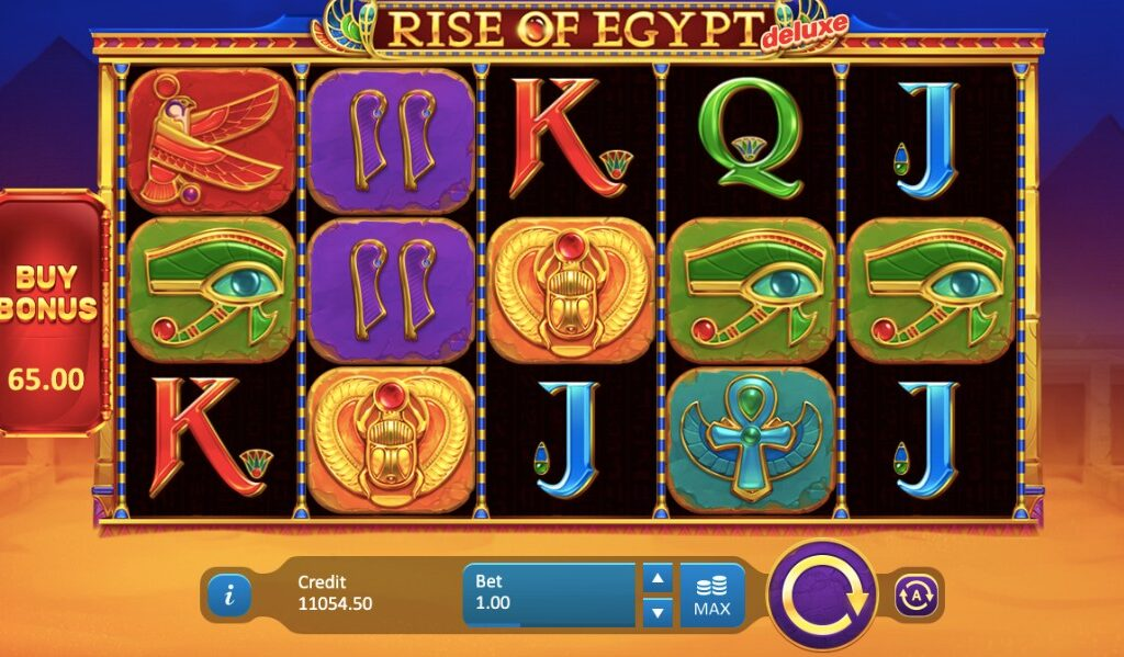 rise of egypt deluxe slot