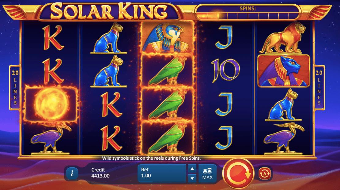 solar king slot