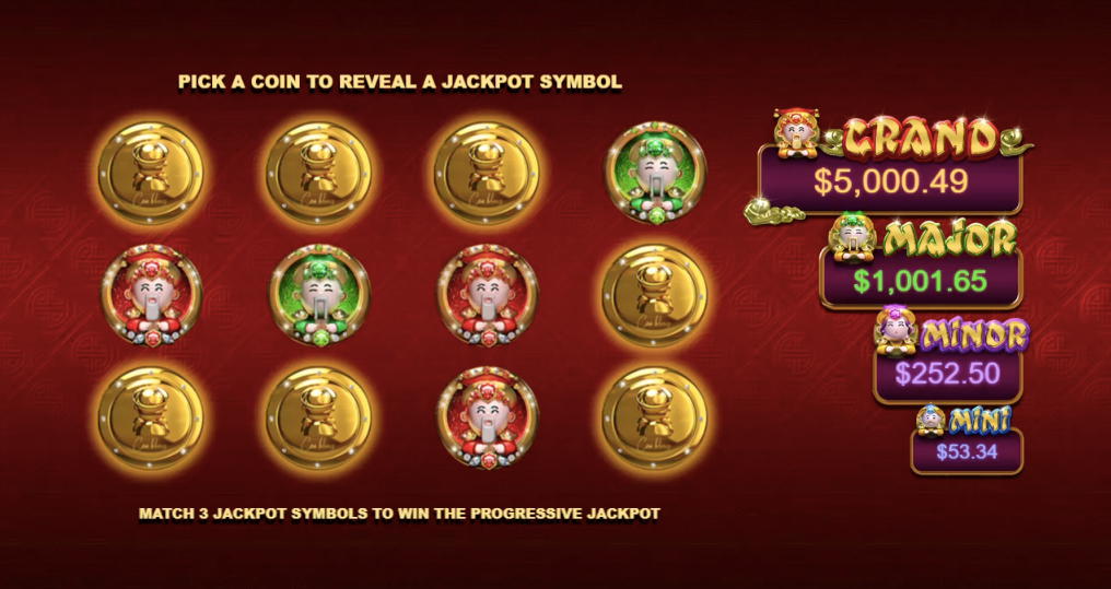 cai bling slot jackpot feature