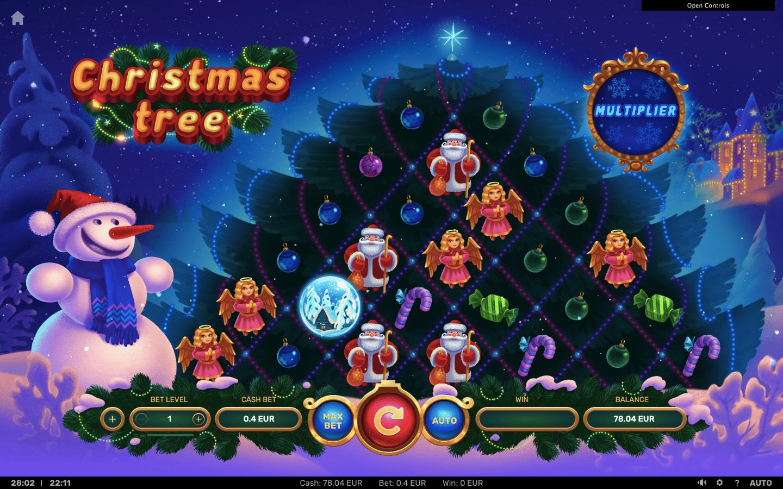 christmas tree slot
