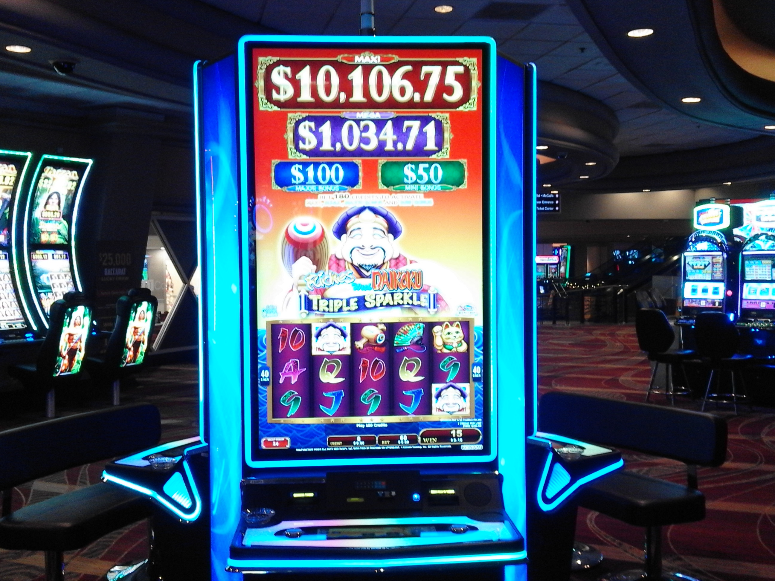 Sugarhouse Casino Penny Slots