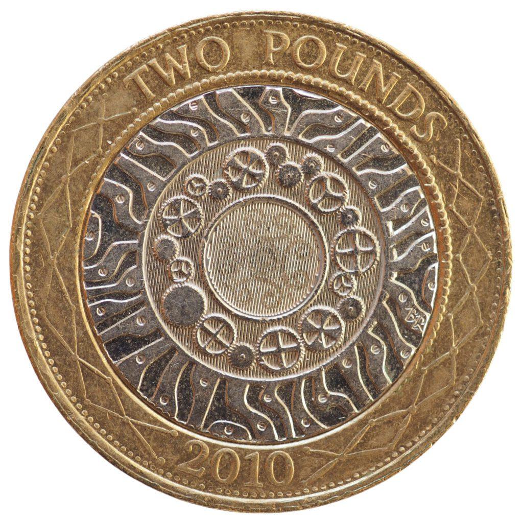 2 pound coin