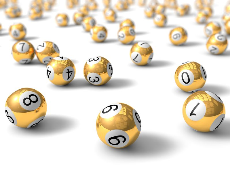 golden bingo balls