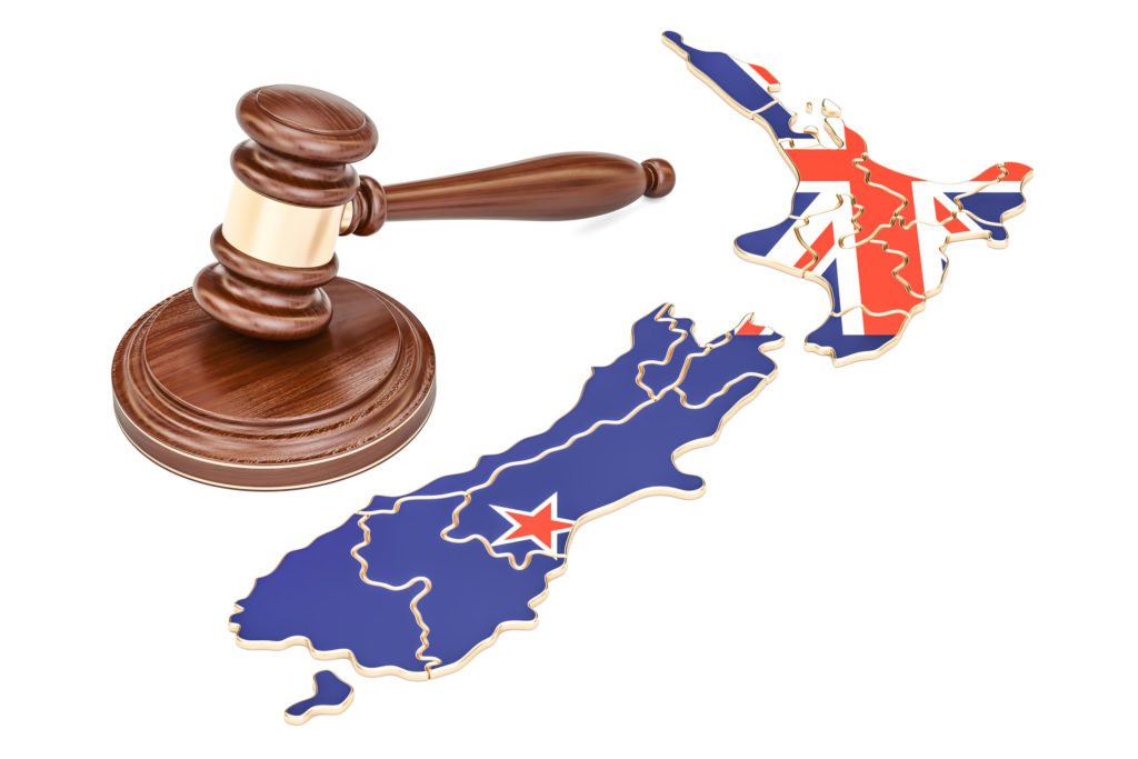 NZ law concept